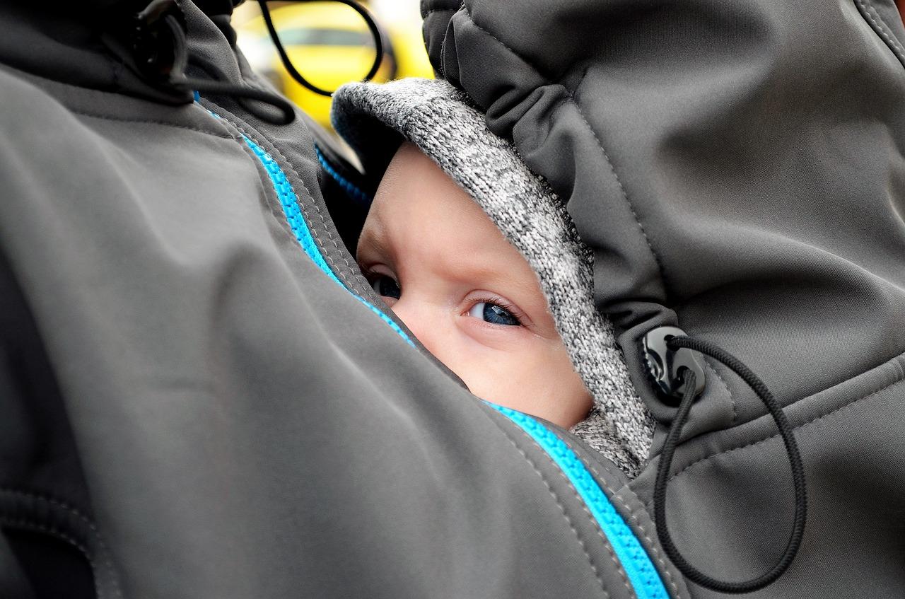 Jacke mit Babytragetuch
